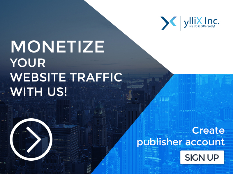 Monetize your website traffic with yX Media